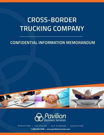 Cross-Border Trucking Company Business Profile - Short Version