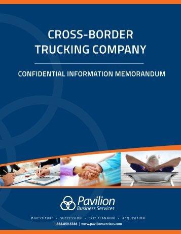 Cross-Border Trucking Company Business Profile - Short Version