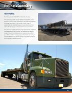 Cross-Border Trucking Company Business Profile - Short Version - Page 5