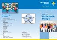 Flyer Physikalische Therapie