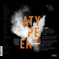 Atypeek Mag N°1