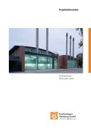 Projektinformation - Kraftanlagen Hamburg GmbH