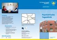 Flyer Psychiatrische Tagesklinik - St.-Vinzenz-Hospital