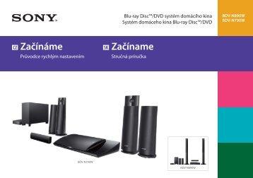 Sony BDV-N790W - BDV-N790W Guida di configurazione rapid Slovacco