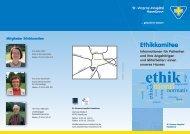 Flyer Ethik - St.-Vinzenz-Hospital
