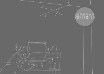 UNDERGRADUATE PORTFOLIO | Bachelor of Architecture | Bala Balaji B