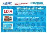 LEMKEN Winterbestell-Aktion 2016
