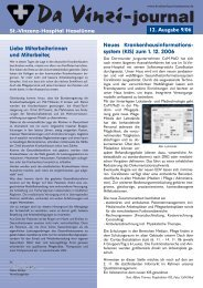 Da Vinzi-journal St.-Vinzenz-Hospital Haselünne Neues ...