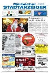 Marbacher Stadtanzeiger KW46/2016