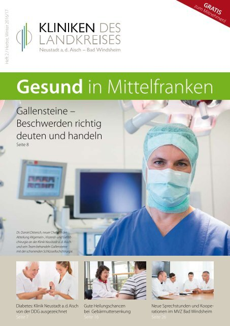 Patientenzeitschrift 2   Herbst, Winter 2016/17