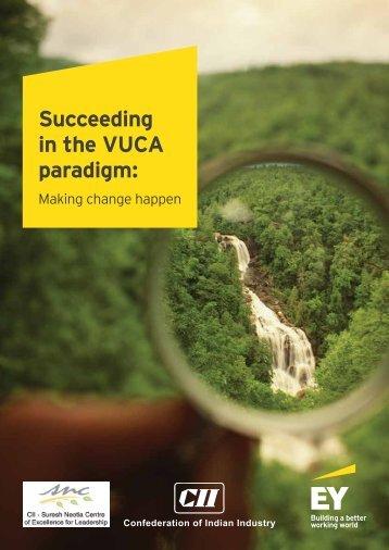 Succeeding in the VUCA paradigm