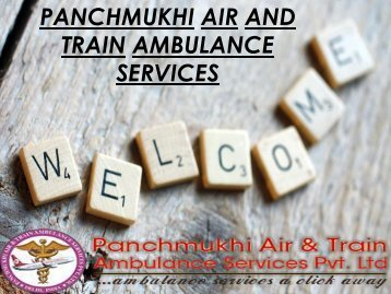 Panchmukhi air and train ambulance services Srinagar-Jammu