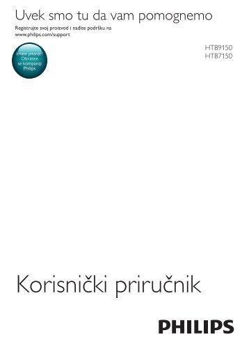 Philips Barre de son - Mode d'emploi - SRP