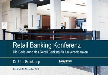 Retail Banking Konferenz