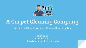 Matt's Carpet Cleaners
