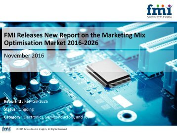 Marketing Mix Optimisation Market