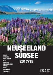 Reisekatalog Südsee