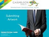 Submitting Artwork - Chameleon Print Group - Australia
