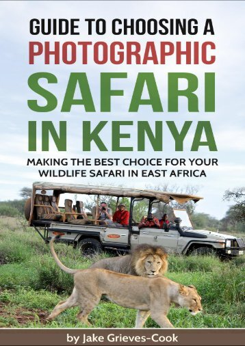 Guide To Choosing A Safari in Kenya