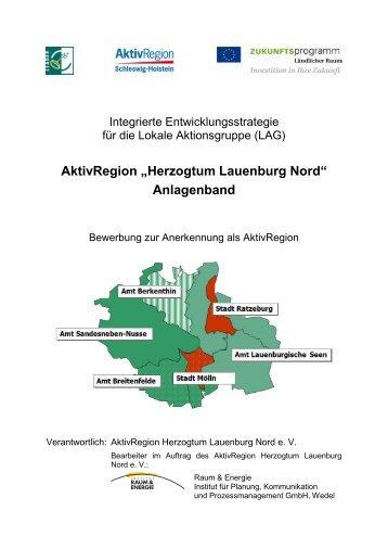 """AktivRegion """"Herzogtum Lauenburg Nord"""" - Institut Raum & Energie"""