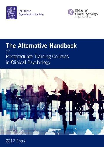 The Alternative Handbook