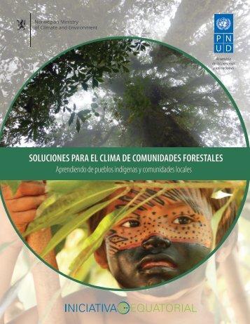 SOLUCIONES PARA EL CLIMA DE COMUNIDADES FORESTALES