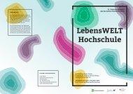 LebensWELT Hochschule der 31.Plakatwettbewerb des deutschen Studentenwerks
