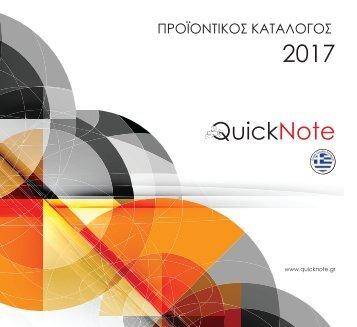 QuickNote Cataloque