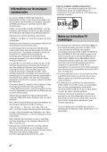 Sony KDL-42W654A - KDL-42W654A Guida di riferimento Svedese - Page 6