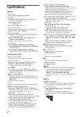 Sony KDL-42W654A - KDL-42W654A Guida di riferimento Bulgaro - Page 4