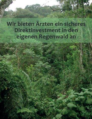 Investement in den eigenen Regenwald