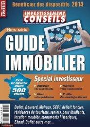 [MAG] Investissement Conseils Hors Serie N.32 - Le Guide de l'Immobilier 2014