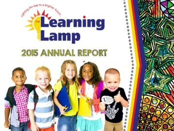 The Learning Lamp Annual Report 2015 Flipbook