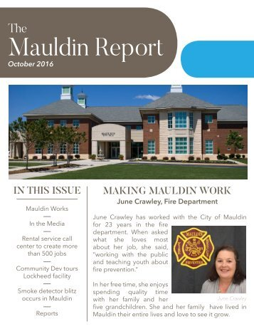 Mauldin Report | October 2016