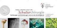 Schulterchirurgie - Katholisches Krankenhaus Erfurt