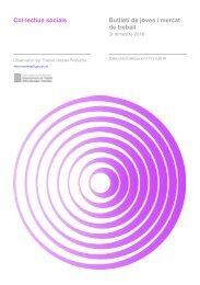 Col·lectius socials Butlletí de joves i mercat de treball