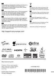 Sony BDP-S790 - BDP-S790 Istruzioni per l'uso Francese