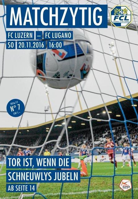 FC LUZERN MATCHZYTIG N°7 16/17 (RSL 15)