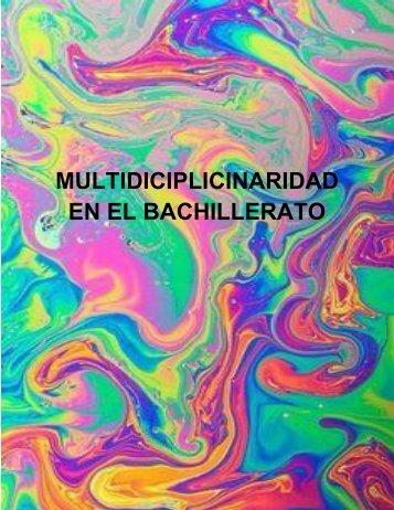 MULTIDICIPLICINARIDAD EN EL BACHILLERATO