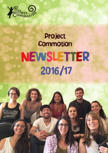 Project Commotion Newsletter 2016-2017