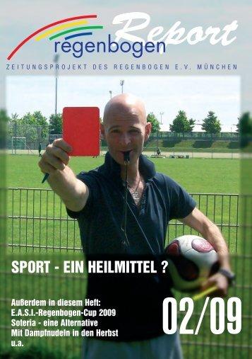 Sport - ein Heilmittel - Regenbogen Report