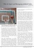 Sport - ein Heilmittel - Regenbogen Report - Page 6