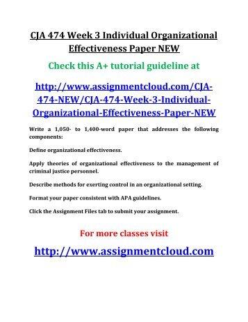week 3 474 individual Cja 474 week 5 learning team ima goodenough evaluation presentation new - powerpoint ppt presentation.