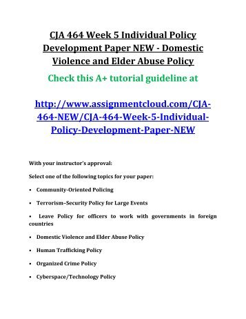 cja 464 week 5 learning team Cja 444 week 3 team assignment behaviors and processes paper to purchase this material find study resources main menu by school by subject by book cja 444 week 5 learning team historical criminal justice theories timeline cja 464 week 4 team assignment budget and policy paper to.