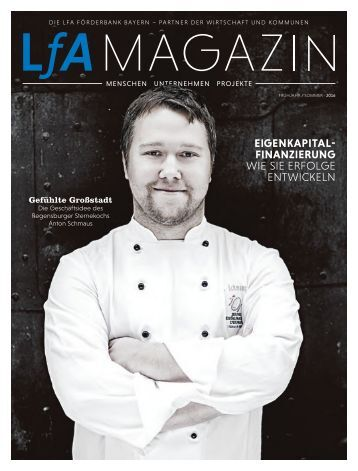 LfA Magazin Frühjahr / Sommer 2016
