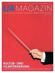 LfA Magazin Herbst/Winter 2016