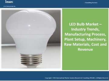 Global LED Bulb Market - Industry Analysis & Opportunities