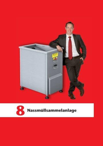 ACO Haustechnik Preisliste 2017 - Nassmüllsammelanlagen