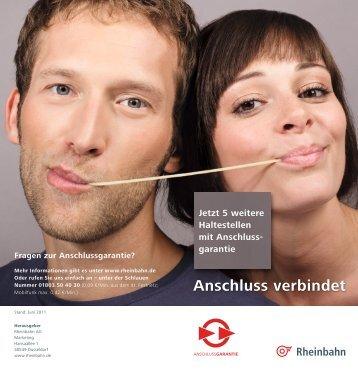 Anschluss verbindet - Rheinbahn