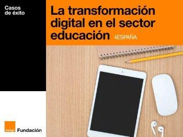 La transformación digital en el sector educación